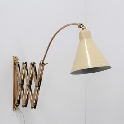 Wall lamp from the fifties by unknown designer for unknown producer