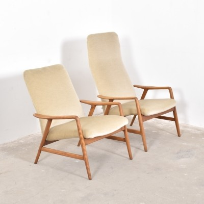 Pair of lounge chairs by Folke Ohlsson for Artifort, 1950s
