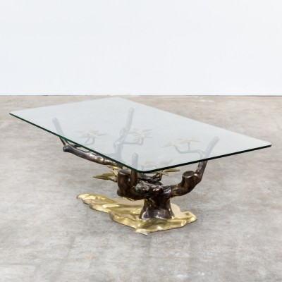Bonsai coffee table from the seventies by Willy Daro for unknown producer