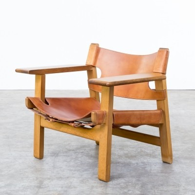 Spanish Chair lounge chair by Børge Mogensen for Fredericia Stolefabrik, 1970s