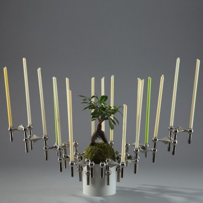 S22 Candle Holder by Fritz Nagel, 1970s