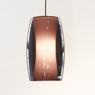 Radius hanging lamp from the sixties by Jo Hammerborg for Fog & Mørup