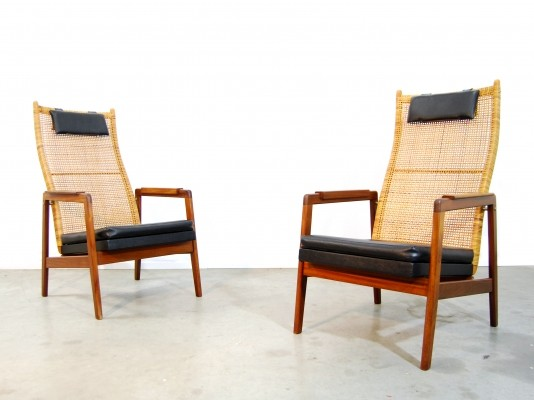 2 lounge chairs from the fifties by P. Muntendam for Gebroeders Jonkers