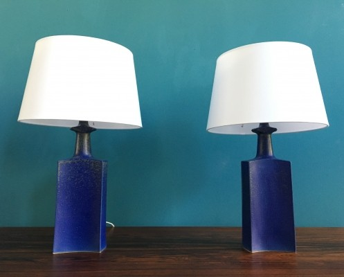 Set of 2 desk lamps from the seventies by unknown designer for Knabstrup
