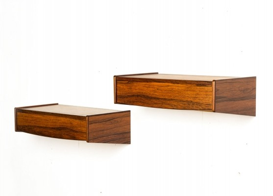Set of 2 wall units from the fifties by unknown designer for unknown producer