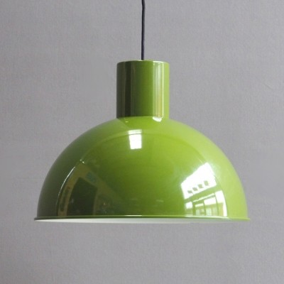 6 Bunker hanging lamps from the sixties by Jo Hammerborg for Fog & Mørup