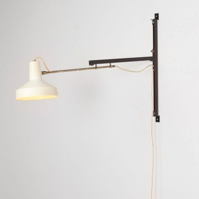 Wall lamp from the fifties by Niek Hiemstra for Hiemstra Evolux