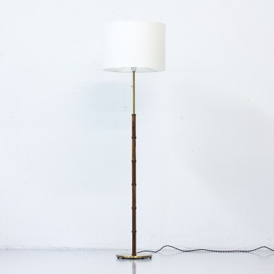 Floor lamp from the fifties by unknown designer for Falkenbergs Belysning Sweden
