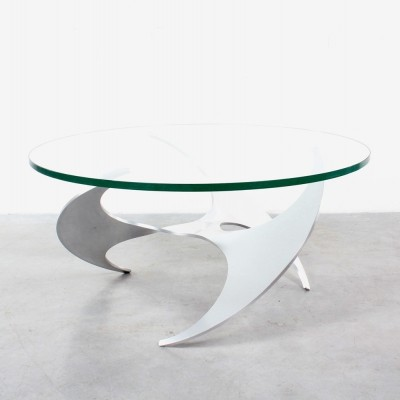Propellor coffee table by Knut Hesterberg for Ronald Schmitt, 1960s