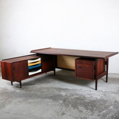 Writing desk by Arne Vodder for Sibast, 1950s