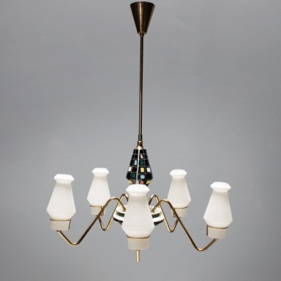 Scandinavian Chandelier by Bergboms, Sweden