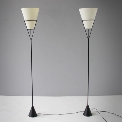 Pair of Vice Versa Floor Lamps by Carl Auböck