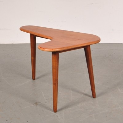 Boomerang side table, 1950s