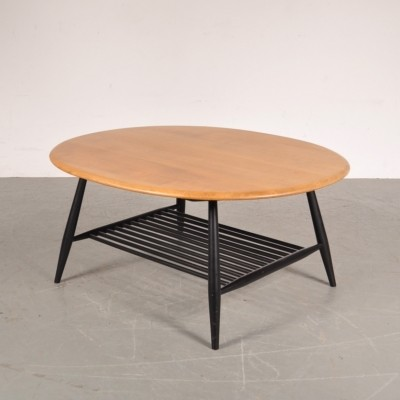 Coffee table by Lucian Randolph Ercolani for Ercol, 1950s