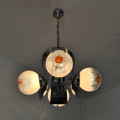 Hanging lamp from the sixties by unknown designer for Mazzega