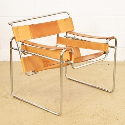 Wassily lounge chair from the sixties by Marcel Breuer for unknown producer