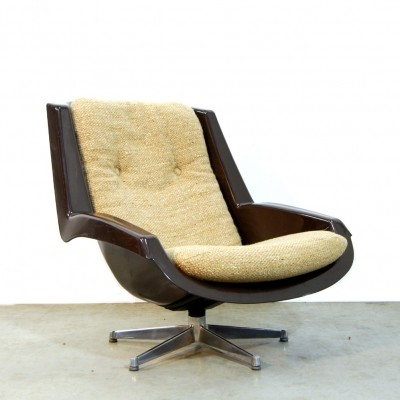 Alpha lounge chair by Paul Tuttle for Strässle, 1970s