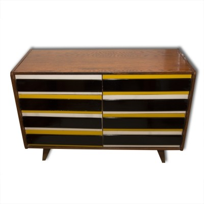 U-453 chest of drawers from the sixties by Jiří Jiroutek for Interier Praha