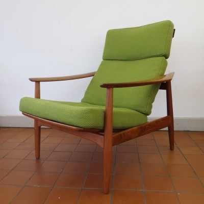 FD1654 lounge chair from the fifties by unknown designer for France & Son