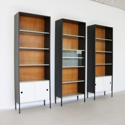 Set of three wall cabinets by Coen de Vries