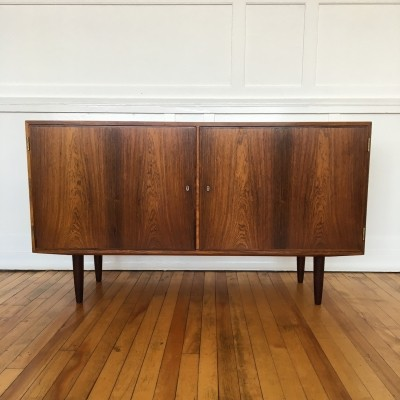 Midcentury Danish Rosewood Sideboard / Cabinet by Carlo Jensen for Hundevad & Co
