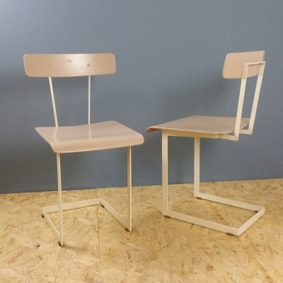 Set of 2 dinner chairs from the fifties by unknown designer for Auping