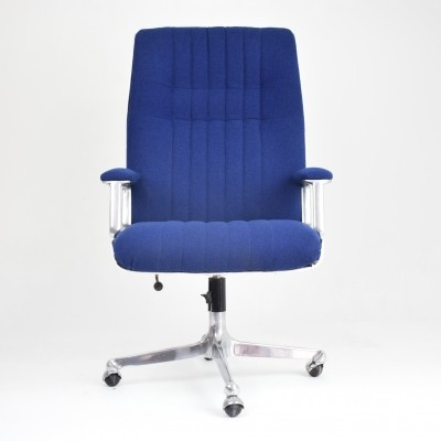 Long Office Chair by Osvaldo Borsani for Tecno, Italy, 1960's