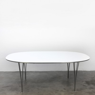 Super Elips dining table by Piet Hein & Bruno Mathsson for Fritz Hansen, 1950s