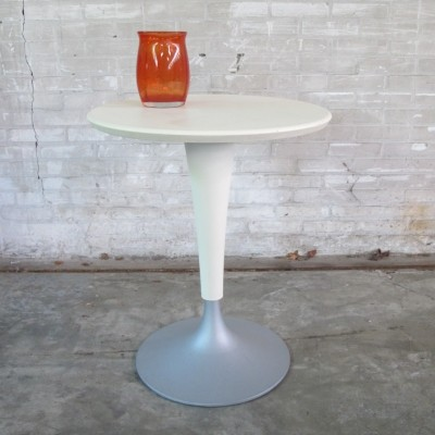2 Dr. Na bistro table side tables from the eighties by Philippe Starck for Kartell