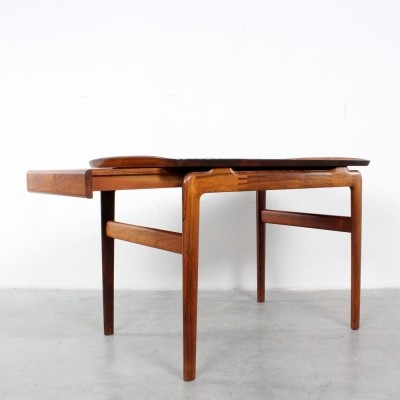 Rosewood side table by Peter Hvidt & Orla Mølgaard Nielsen for France & Son, 1960s