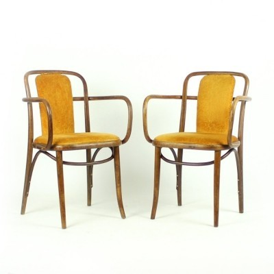 2 arm chairs from the fifties by unknown designer for unknown producer