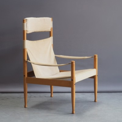Lounge chair by Erik Wørts for Niels Eilersen, 1960s