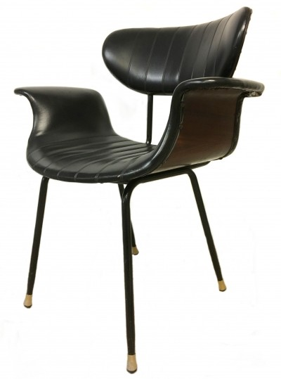 Swan arm chair from the sixties by unknown designer for MIM Roma