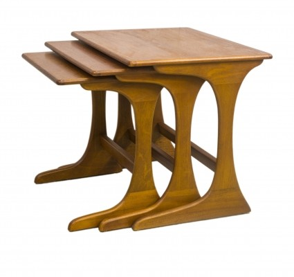 Nesting table from the fifties by unknown designer for G plan