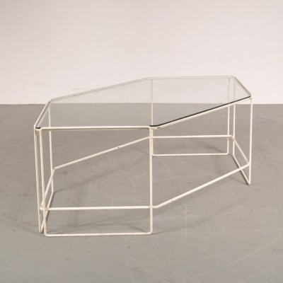 Coffee table from the sixties by Max Sauze for Max Sauze Studio