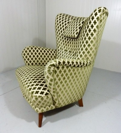 Wingback lounge Chair from the fifties