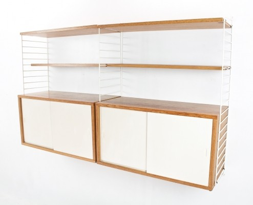 String wall unit by Nils Strinning for String Design AB, 1960s