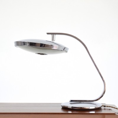 Chrome Desk Lamp by Fase, Spain, 1960's