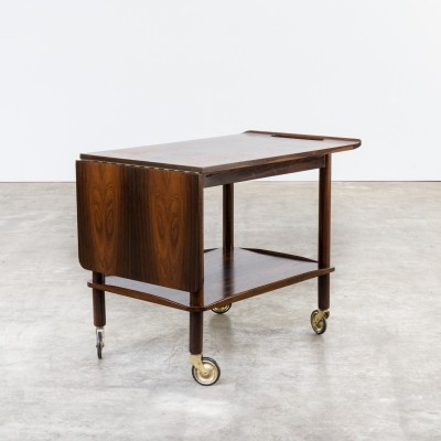 Serving trolley from the sixties by Johannes Andersen for CFC Silkeborg
