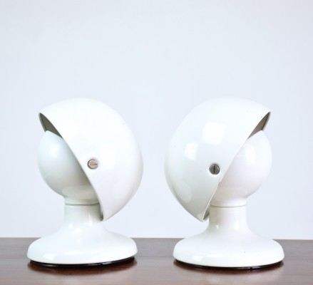 Pair of Jucker Desk Lamps by Tobia Scarpa for Flos, Italy, 1960's