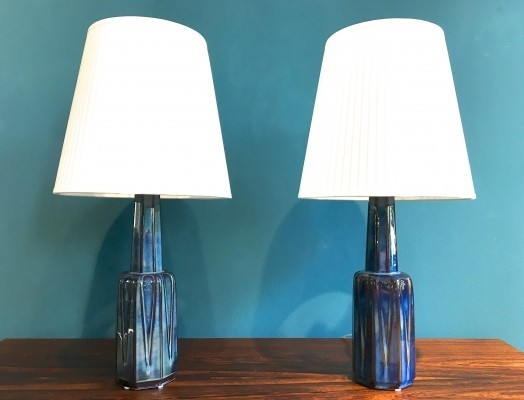 2 desk lamps from the sixties by Einar Johansen for Søholm
