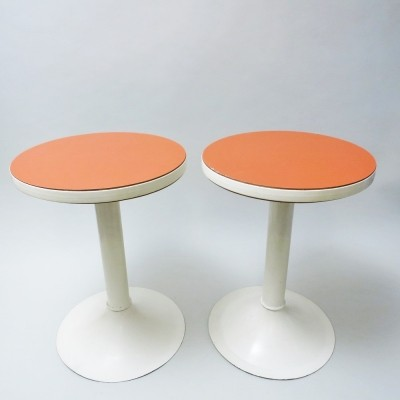 Set of 2 side tables from the sixties by unknown designer for unknown producer