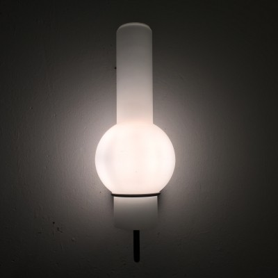 Quinquet or Lucifero wall lamp from the fifties by unknown designer for Raak Amsterdam