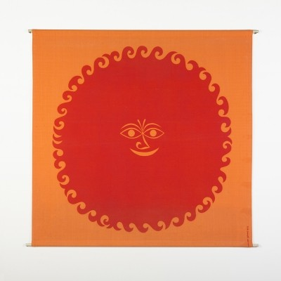Original 'Old Sun' Alexander Girard Enrichment Panel