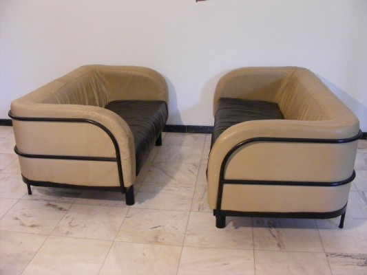 Set of 2 sofas from the sixties by unknown designer for unknown producer