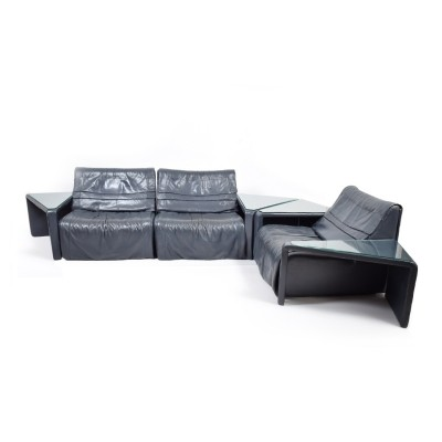 Seating group from the seventies by unknown designer for De Sede