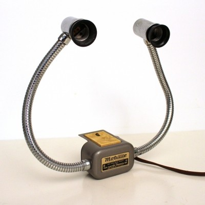 Mobilite desk lamp from the sixties by unknown designer for Flex Electric Products