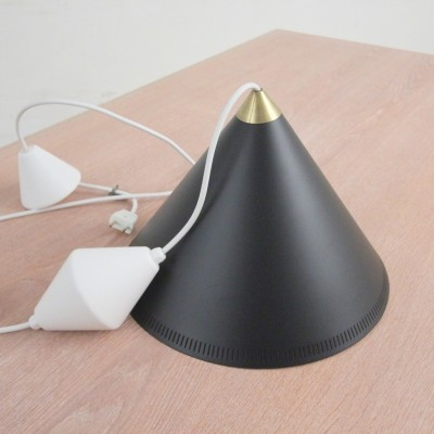 Billard hanging lamp from the fifties by unknown designer for unknown producer