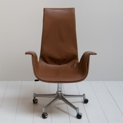 FK 6725 office chair from the sixties by Preben Fabricius & Jørgen Kastholm for Kill International