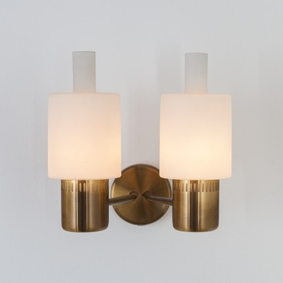 2 Nordlys wall lamps from the sixties by Jo Hammerborg for Fog & Mørup